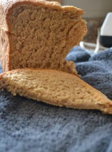 Sprouting, milling and baking wheat bread