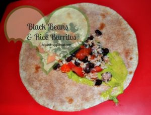 Brown Rice & Black Bean Burritos