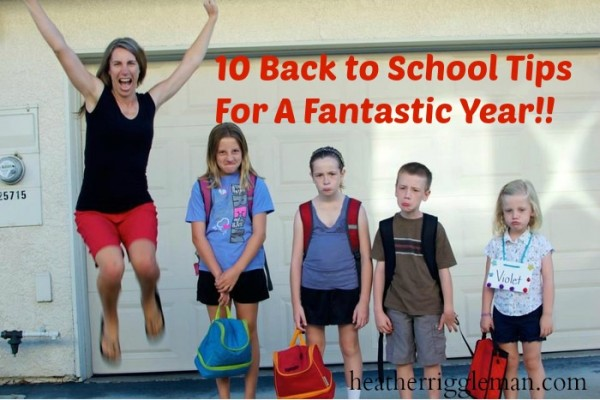 11 Tips to get organized for school plus dozens of ideas to make it happen