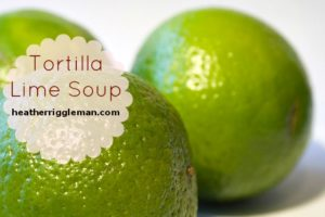 Tortilla Lime Soup
