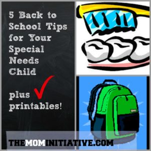 5 Back to School Tips for Your Special Needs Child