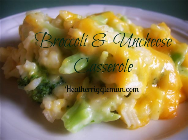 Broccoli and Uncheese Casserole