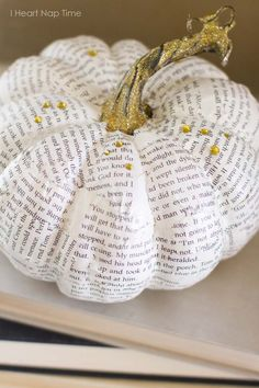 lettered pumpkin