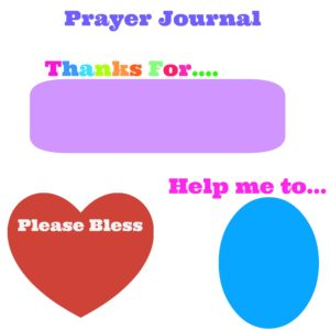 Prayer Journal Week 1(Family Challenge)