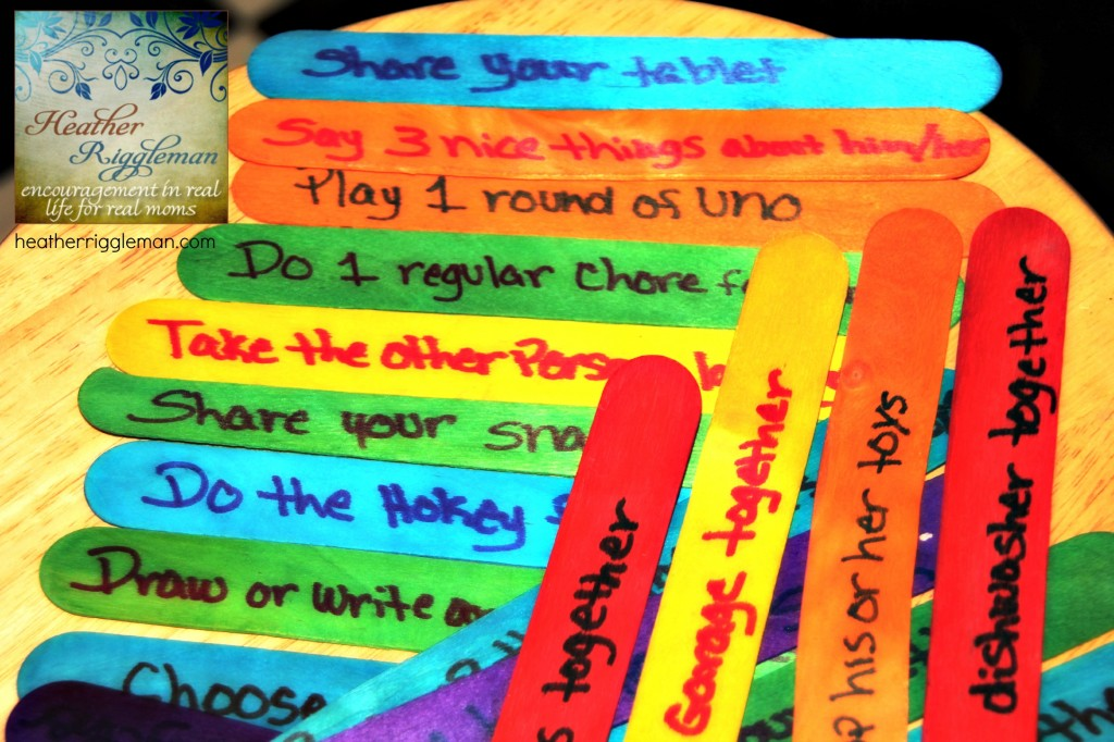 Consequence Jar Ideas 32 Ideas To Stop The Sibling Bickering