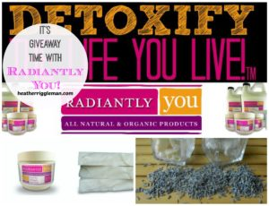Radiantly You Giveaway!!
