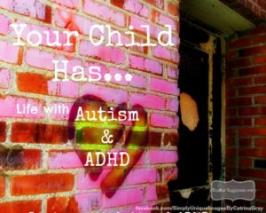 """Your child has…."": Life with Autism and A.D.H.D."