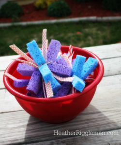 DIY Sponge Bombs plus 31 Ways to Keep Cool this Summer
