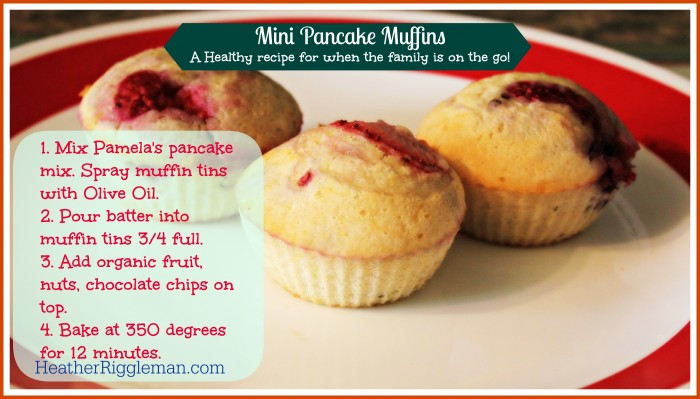 Pancake Mini Muffins — A healthy version for busy families