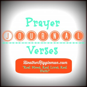Prayer Journal Verses Logo LOMO