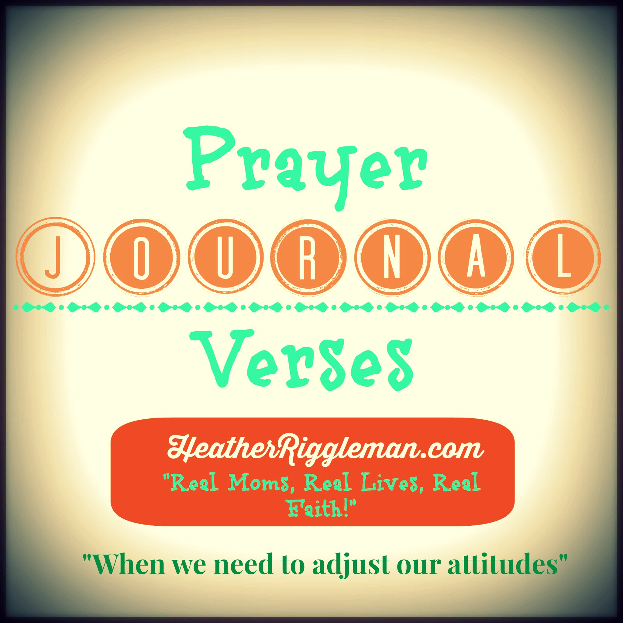 Journal Scripture with the Family – Attitudes
