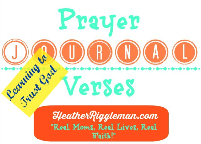 Scripture for Journaling Prayers with the Family – Trust