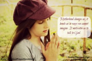 {Let's Talk Prayer} – Day 3: How can I pray for my family?