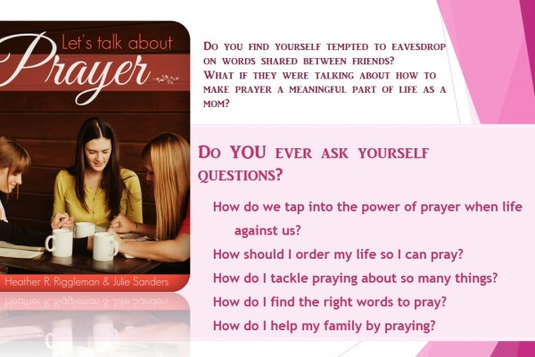 Let's Talk About Prayer E-Book Release!