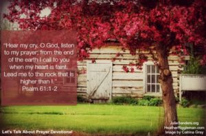 {Let's Talk Prayer} Day 4 – Where do I start when I'm too overwhelmed to pray?
