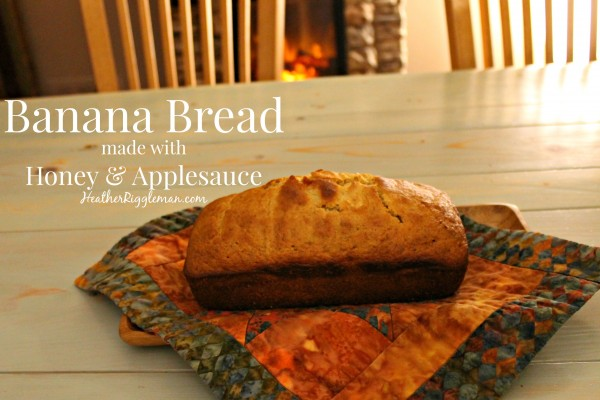 Banana Bread: A versatile recipe for paleo and vegans and moms who like to serve healthy stuff to kids.