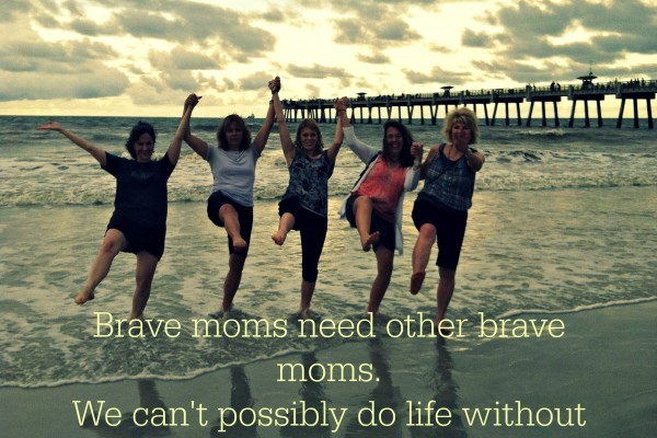 Because You Need a Home Team to Lay You at Jesus' Feet – Brave Moms need a Home Team