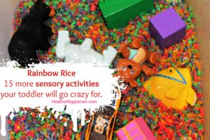 Rainbow Rice and 15 More Toddler Activities (Nebraska.TV News)