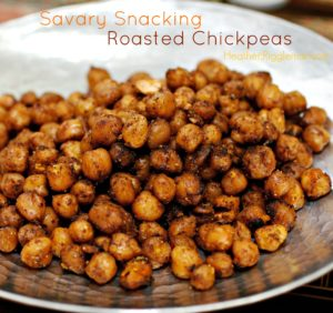 Roasted Chick Peas — Savory Summer Snacks