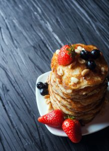 When to take risks with a side of pancakes